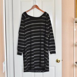 Maurices Plus Size Jersey Dress Criss Cross Back